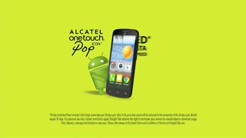Straight Talk Wireless Alcatel OneTouch Pop Icon TV Spot - Thumbnail 8