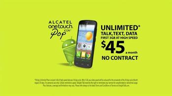Straight Talk Wireless Alcatel OneTouch Pop Icon TV Spot - Thumbnail 9