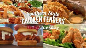 Ruby Tuesday Southern Style Chicken Tenders TV Spot, 'You'll Love 'Em'