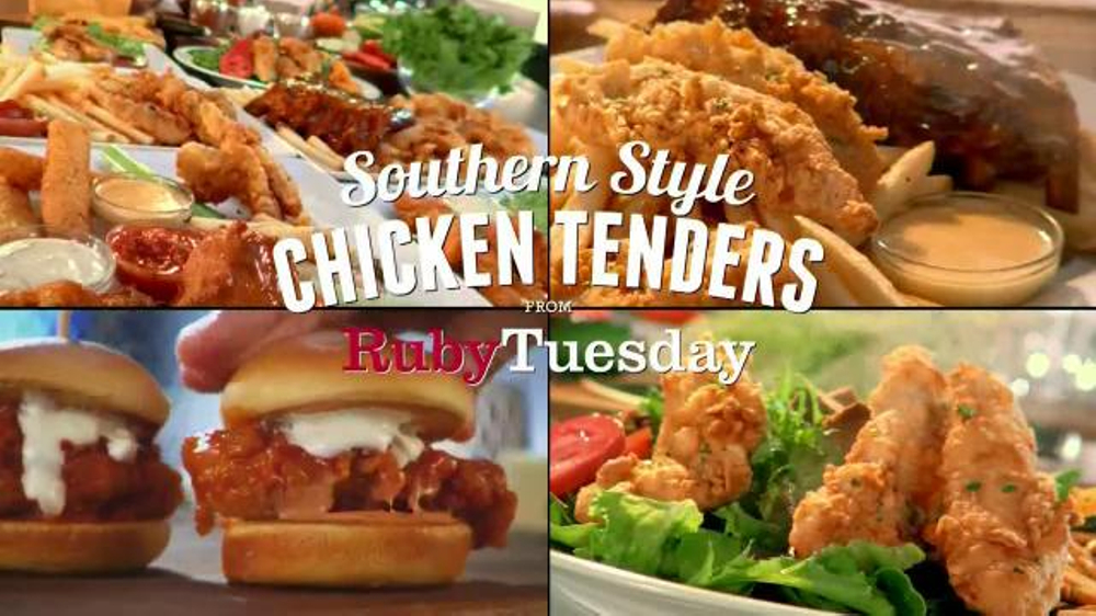 Ruby Tuesday Southern Style Chicken Tenders Tv Commercial 39 You 39 Ll Love 39 Em 39