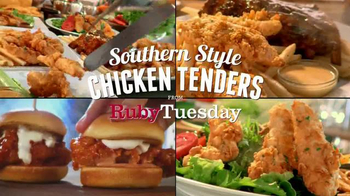 Ruby Tuesday Southern Style Chicken Tenders TV Spot, 'You'll Love 'Em' - Thumbnail 2
