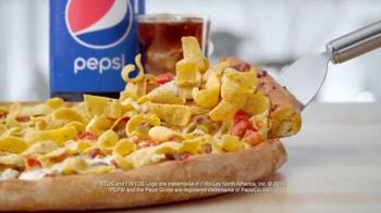 Papa John's Fritos Chili Pizza TV Spot, 'Just a Baby' Feat. Peyton Manning - Thumbnail 6