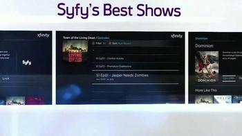 XFINITY X1 Entertainment Operating System TV Spot, 'SYFY Network' - Thumbnail 4