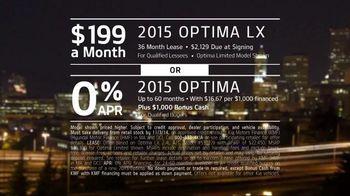 2015 Kia Optima TV Spot, 'Seductive Styling' - Thumbnail 8