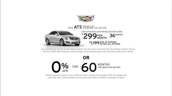 2015 Cadillac ATS Sedan TV Spot, 'Brand New Cadillac' - Thumbnail 8