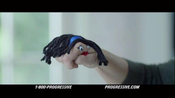 Progressive TV Spot, 'Hand Puppet' - Thumbnail 3