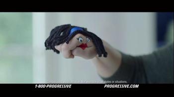 Progressive TV Spot, 'Hand Puppet' - Thumbnail 5