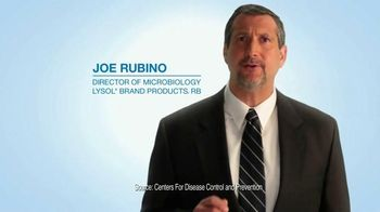 Lysol Disinfectant Spray TV Spot, 'Words from Joe Rubino'
