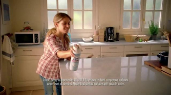 Lysol Disinfectant Spray TV Spot, 'Words from Joe Rubino' - Thumbnail 7