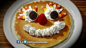IHOP Free Scary Face Pancake TV Spot, 'Scary Face Pancakes at IHOP' - Thumbnail 6