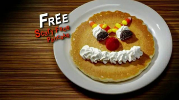 IHOP Free Scary Face Pancake TV Spot, 'Scary Face Pancakes at IHOP' - Thumbnail 7