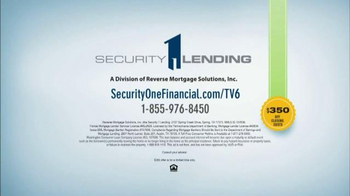 Security 1 Lending Home Equity Conversion Mortgage TV Spot, 'A Safe Way' - Thumbnail 10