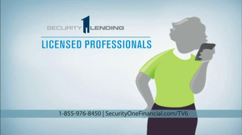 Security 1 Lending Home Equity Conversion Mortgage TV Spot, 'A Safe Way' - Thumbnail 7