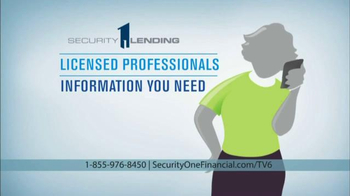 Security 1 Lending Home Equity Conversion Mortgage TV Spot, 'A Safe Way' - Thumbnail 8