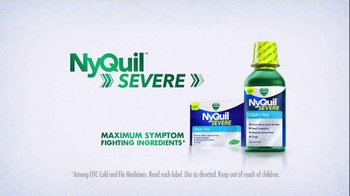 Vicks NyQuil Severe TV Spot, 'Ugliest, Nastiest, Roughest Cold Symptoms' - Thumbnail 8