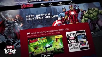 MarvelKids.com TV Spot, 'Just a Click Away' - 161 commercial airings