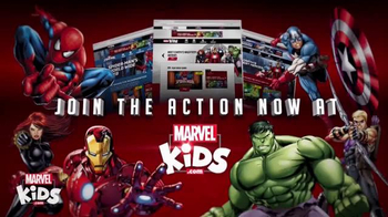 MarvelKids.com TV Spot, 'Just a Click Away' - Thumbnail 8
