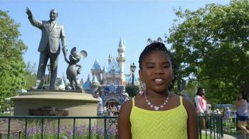 Disneyland Diamond Celebration TV Spot, 'Disney Channel: Trinitee Stokes' - 25 commercial airings