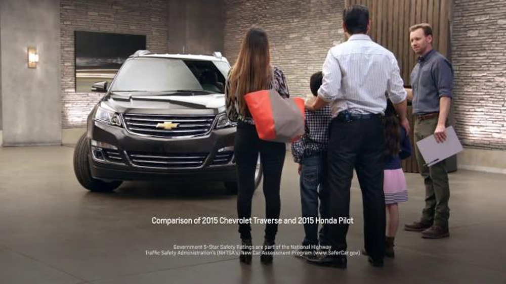 Chevrolet Traverse TV Commercial, 'Safety Choice' - iSpot.tv