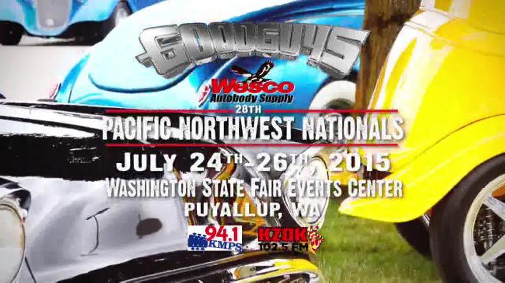 Goodguys Wesco Autobody Supply Pacific Northwest Nationals TV - Good guys auto