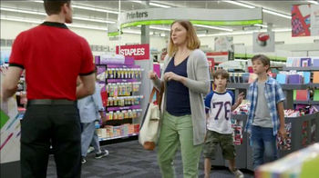 Staples TV Spot, '110 Percent Ready for School' - 1008 commercial airings