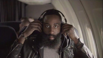 Skullcandy Crusher TV Spot ,'DROP IN With Crusher' Feat. James Harden - 2 commercial airings