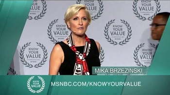 MSNBC.com TV Spot, 'Know Your Value'