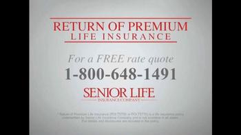 Senior Life Insurance Company TV Spot, 'Return of Premium' - Thumbnail 8