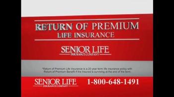 Senior Life Insurance Company TV Spot, 'Return of Premium' - Thumbnail 3