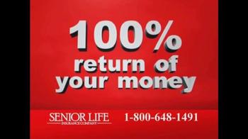 Senior Life Insurance Company TV Spot, 'Return of Premium' - Thumbnail 5