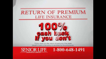 Senior Life Insurance Company TV Spot, 'Return of Premium' - Thumbnail 6