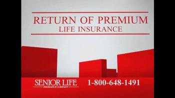 Senior Life Insurance Company TV Spot, 'Return of Premium' - Thumbnail 7