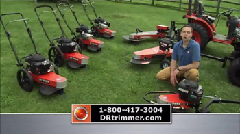 DR Power Equipment Trimmer Mowers TV Spot, 'Better With PTO'