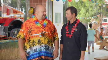 Firehouse Subs King's Hawaiian Pork & Slaw Sandwich TV Spot, 'Luau'