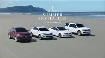 Lincoln Summer Invitation Sales Event TV Spot, 'Kite'