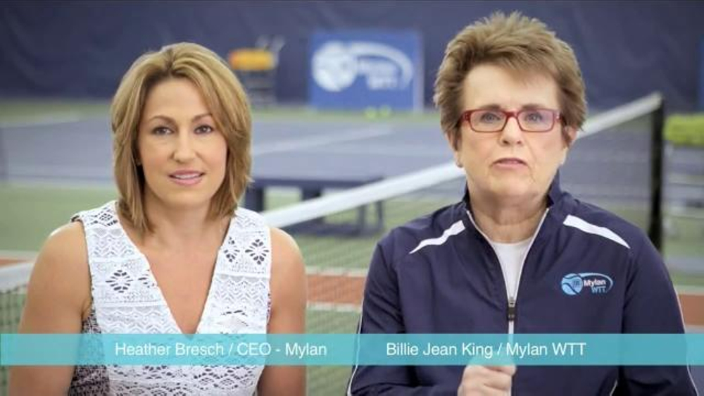 Mylan TV Commercial, 'World TeamTennis' - Video