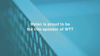 Mylan TV Spot, 'World TeamTennis' - Thumbnail 9