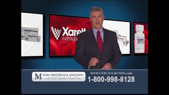 Marc Whitehead & Associates, LLP TV Spot, 'Xarelto'