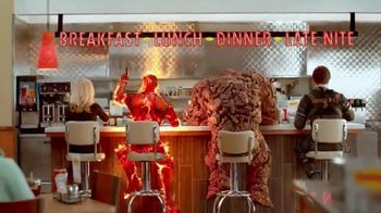 Denny's Fantastic Four Cheese Omelette TV Spot, 'Fantastic Four Heroes'