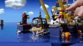 LEGO Deep Sea Explorer TV Spot, 'Save the Treasure' - Thumbnail 1