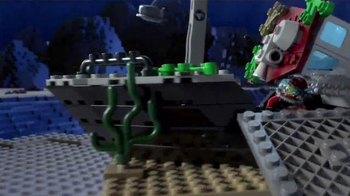 LEGO Deep Sea Explorer TV Spot, 'Save the Treasure' - Thumbnail 4