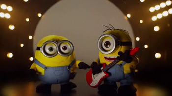 Interactive Minions TV Spot, 'Rock'n'roll Buddies'
