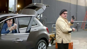 FIAT TV Spot, 'Bravo Network: No Phones' Feat. Bobby Moynihan, Jenni Pulos - Thumbnail 10