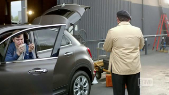 FIAT TV Spot, 'Bravo Network: No Phones' Feat. Bobby Moynihan, Jenni Pulos - Thumbnail 9