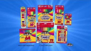 Cra-Z-Art TV Spot, 'Bold and Vibrant Colors' - Thumbnail 9