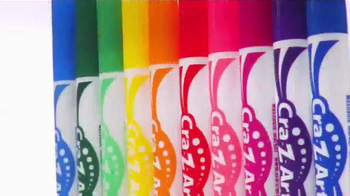 Cra-Z-Art TV Spot, 'Bold and Vibrant Colors' - Thumbnail 5