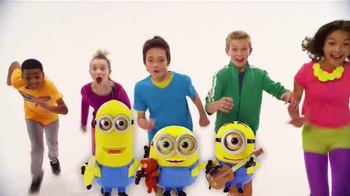 Minions Talking Action Figures TV Spot, 'Kevin, Bob and Stuart' - 679 commercial airings