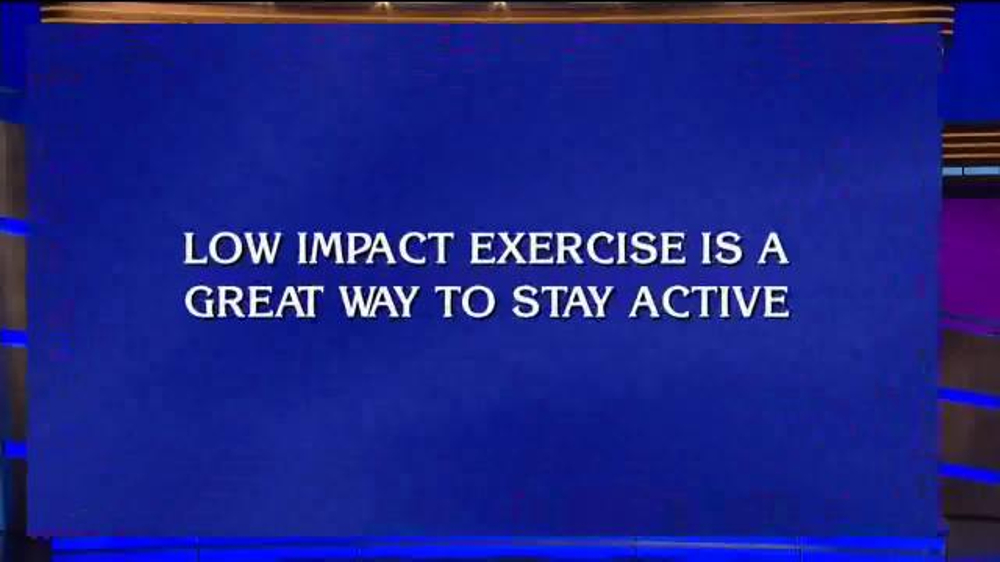 Aleve TV Commercial, 'Low Impact Exercise'