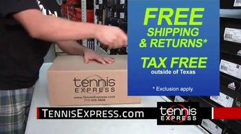 Tennis Express TV Spot, 'Shipping & Returns'