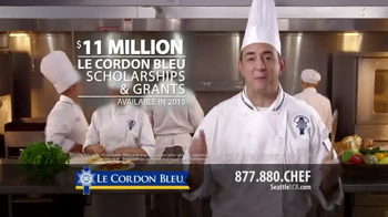 Le Cordon Bleu TV Spot, \'Scholarship Brochure\'